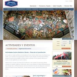Actividades Centro Histórico de México Hampton Inn and Suites