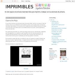 Actividades imprimibles para primaria: Caperucita Roja