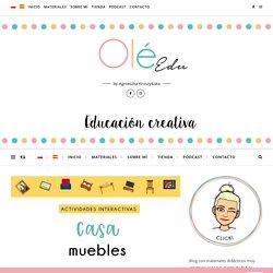 describir la casa y los muebles en español actividades interactivas