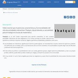 Thatquiz - Actividades interactivas