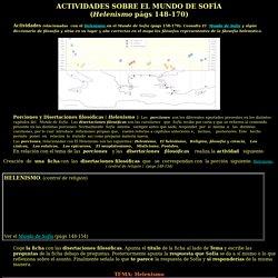 Actividades Mundo Sofía (Helenismo)
