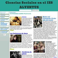 ACTIVIDADES SOBRE PELÍCULAS - Ciencias Sociales en el IES ALVENTUS