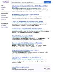 actividades sobre cervantes para primaria - Resultados de la búsqueda Yahoo Search Results Yahoo España