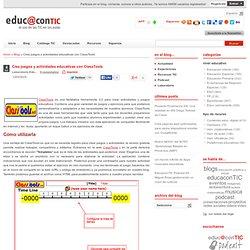 Crea juegos y actividades educativas con ClassTools
