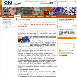 ENS Cachan - Quand Activision achète 5milliards d'euros de bonbons: unjeusérieux