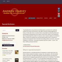 Author Andrew Harvey