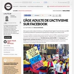 L'âge adulte de l'activisme sur Facebook