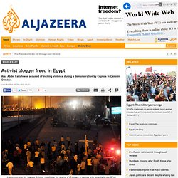 Activist blogger freed in Egypt - Middle East