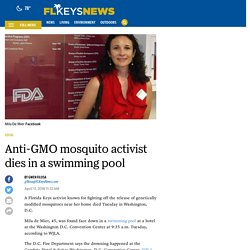 Florida Keys activist died in Washington, D.C., swimming pool