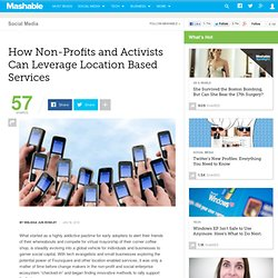 How Non-Profits and Activists Can Leverage Location Based Servic