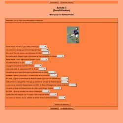Activité 3(Sensibilisation)