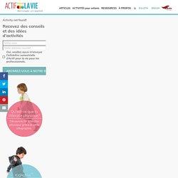 activité d'affichage - Actif pour la vie