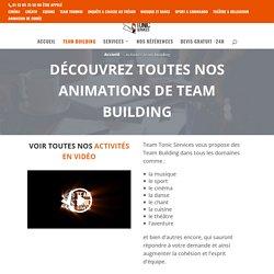 Activité Team building - Team Tonic - Agence de team building & événementiel