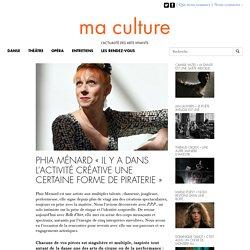 """Phia Ménard """"Il y a dans l'activité créative une certaine forme de piraterie"""" - MA CULTURE"""