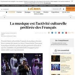 La musique est l'activité culturelle préférée des Français - La Croix