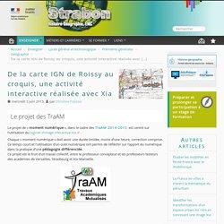 1° De la carte IGN de Roissy au croquis, une activité interactive réalisée avec Xia Ac Versailles