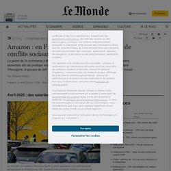 Amazon: en France, une activité jalonnée de conflits sociaux
