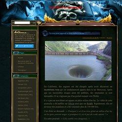 Activité Paranormale: Un trou géant apparaît en plein milieu d'un lac