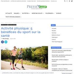 5 bénéfices du sport sur la santé