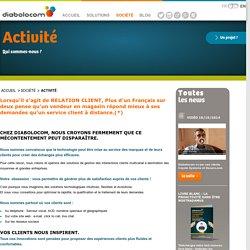 Activité : création de solutions multicanal de relation client