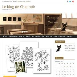 Activités en arts plastiques – Le blog de Chat noir