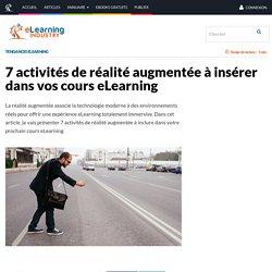 7 activités de réalité augmentée à insérer dans vos cours eLearning - eLearning Industry