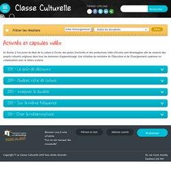 Activités et capsules vidéo Archives - Classe Culturelle