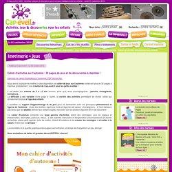 Cahier d'activités sur l'automne : 30 pages de jeux et de découvertes à imprimer !