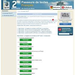 50 activités TICE 2de-Dictionnaire Le Robert