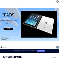 Activités IPADS by Elodie Camo on Genially