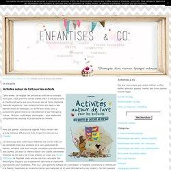 Activités autour de l'art pour les enfants - Enfantises & Co