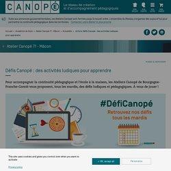 Défi Canopé
