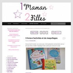 Activités manuelles1 Maman et ses 2 Filles