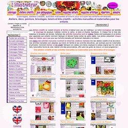 Des ateliers créatifs et des activités manuelles ou maternelles pour tous les enfants