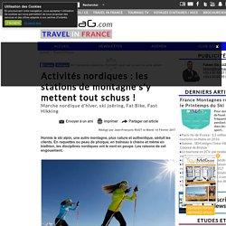 Activités nordiques : les stations de montagne s'y mettent tout schuss !