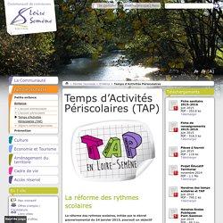 Temps d'Activités Périscolaires (TAP) - CC Loire Semène
