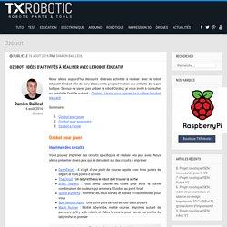 Ozobot : idées d'activités à réaliser avec le robot éducatif