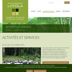 Activités et services