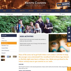 Kids Activities at Kents Cavern Attraction - Torquay, South Devon