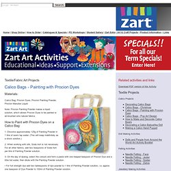 zart Art Easy Art Craft Activities | Primary School Activities | Textile Projects | Making Bags | activities for children/students/kids | Teacher Art Craft Lesson Plans | Australian School Teacher Education Resources