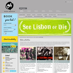 Lisbon Activities & Free Lisbon Tours. Oasis Backpackers Hostels