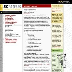 Activities, Campus // SCampus 2011-12