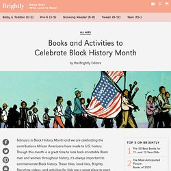 Books and Activities to Celebrate Black History Month