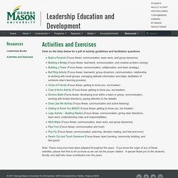 Leadership Education and Development