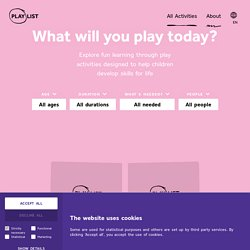 Fun learning activities & educational activities for kids - Playlist
