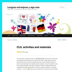 CLIL activities and materials