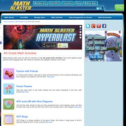 4th Grade Math Activities – Fun Activities for Fourth Graders
