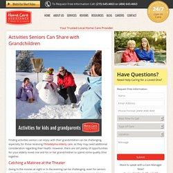 Activities for the Elderly and Their Grandchildren