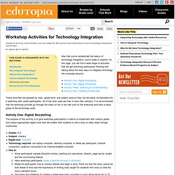 Workshop Activities for Technology Integration
