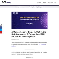 15 Self Awareness Activities and Exercises to Build Emotional Intelligence
